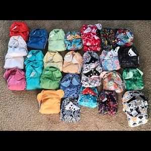 Cotton Babies BUMGENIUS cloth diaper lot 51